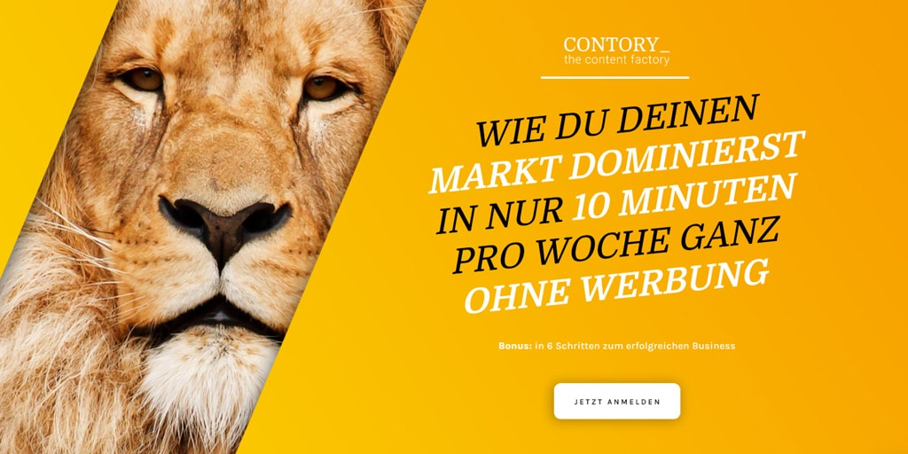Contory The Content Factory