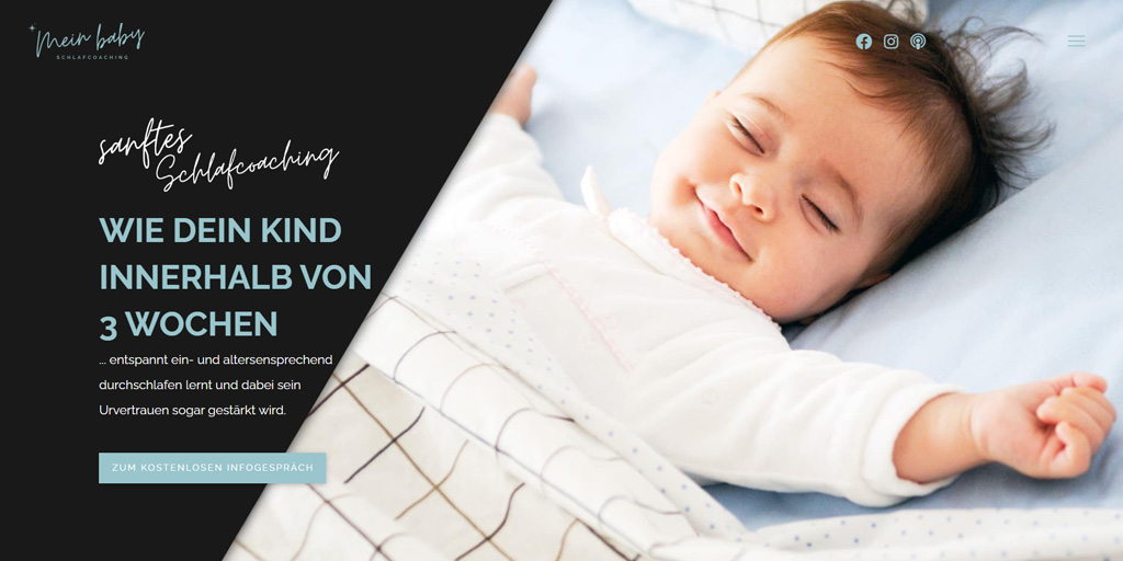 Mein Baby Schlafcoaching